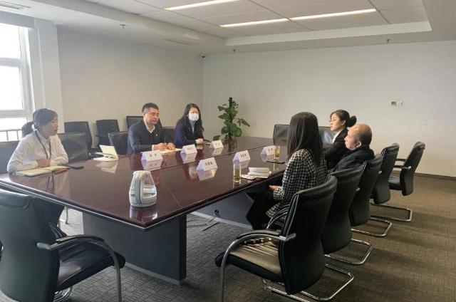 本公司与中国民生银行火狐体育ios分行进行战略合作洽谈会